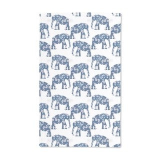 Patchwork Elephant Hand Towel (Set of 2)