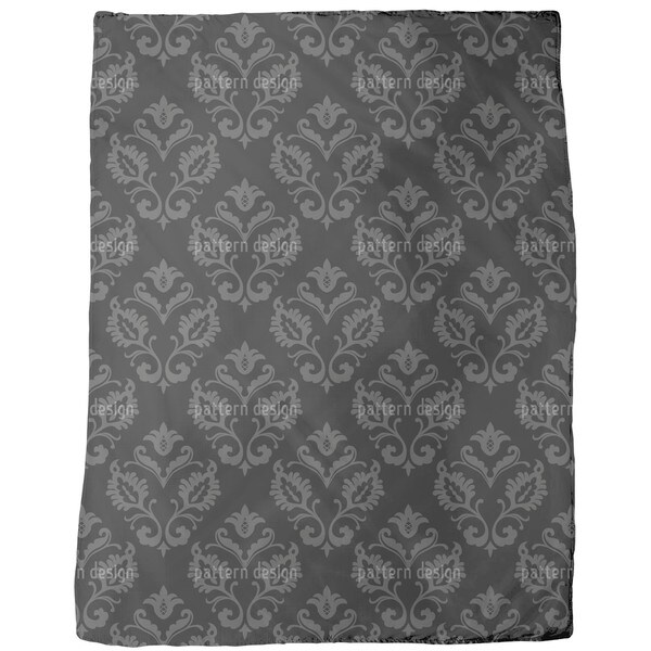 Aramis Black Fleece Blanket