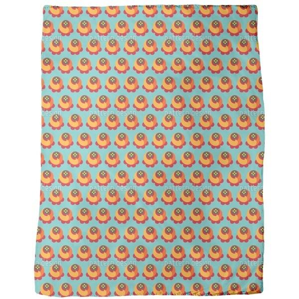 Buddy Orange Fleece Blanket