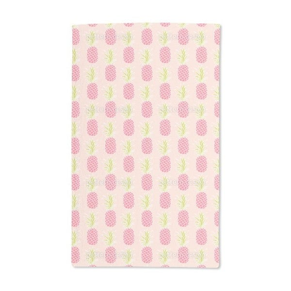 Pineapple Sunset Hand Towel (Set of 2)
