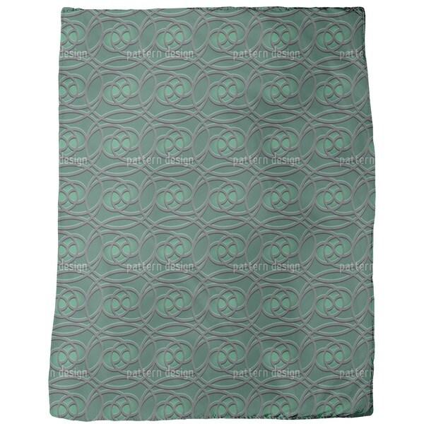 Celtic Emerald Fleece Blanket
