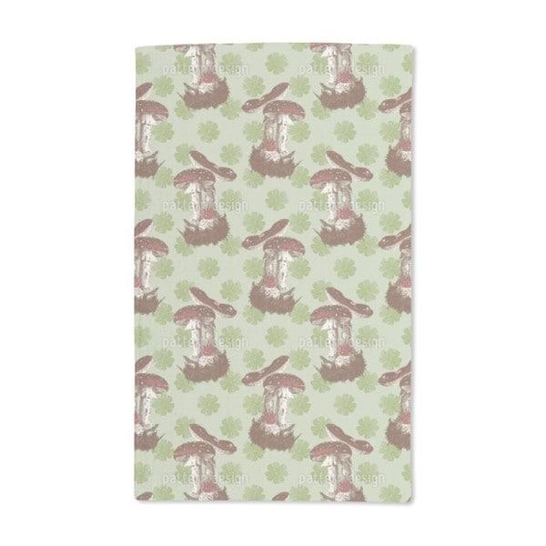 The Lucky Mushroom Hand Towel (Set of 2)