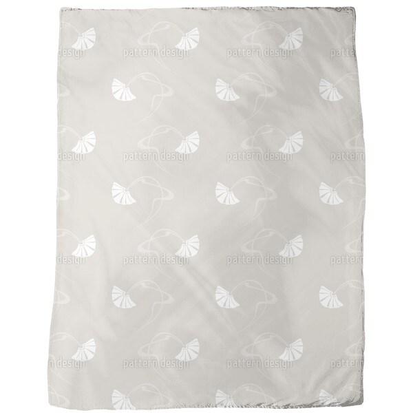 Burlesque Beige Fleece Blanket