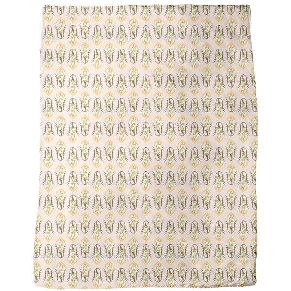 Gloriosa Fleece Blanket