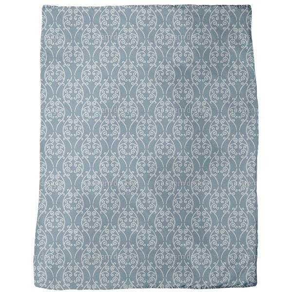 Blue Onlooker Fleece Blanket
