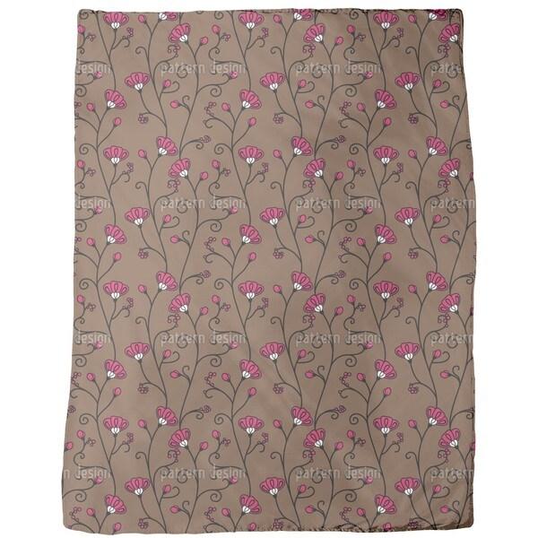 Ipomoea Fleece Blanket