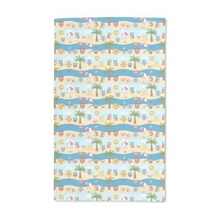 Owls By the Sea Hand Towel (Set of 2)