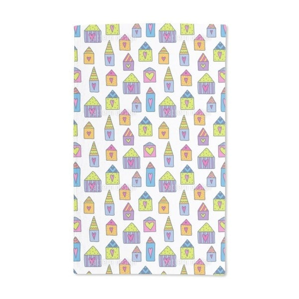 Lovely Houses Hand Towel (Set of 2)