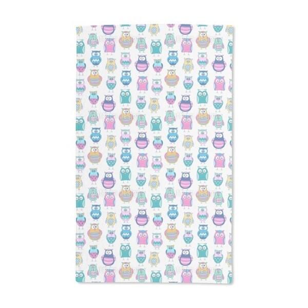 Cartoon Owls Hand Towel (Set of 2)