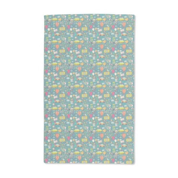 Life Can Be So Wonderful Hand Towel (Set of 2)