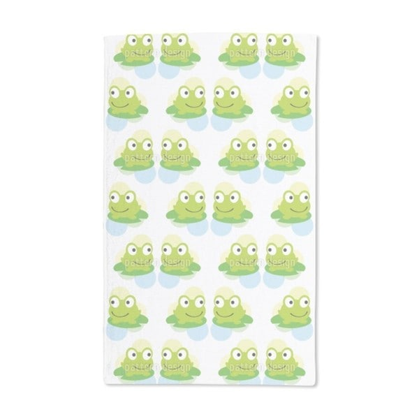 Twin Frogs Hand Towel (Set of 2)