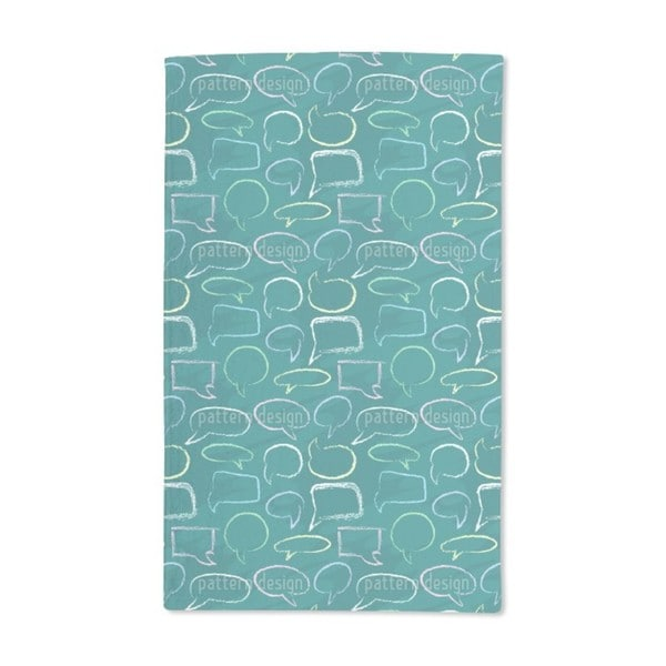 Talk to Me Hand Towel (Set of 2)