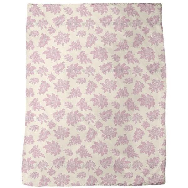 Baroque Bloom Fleece Blanket