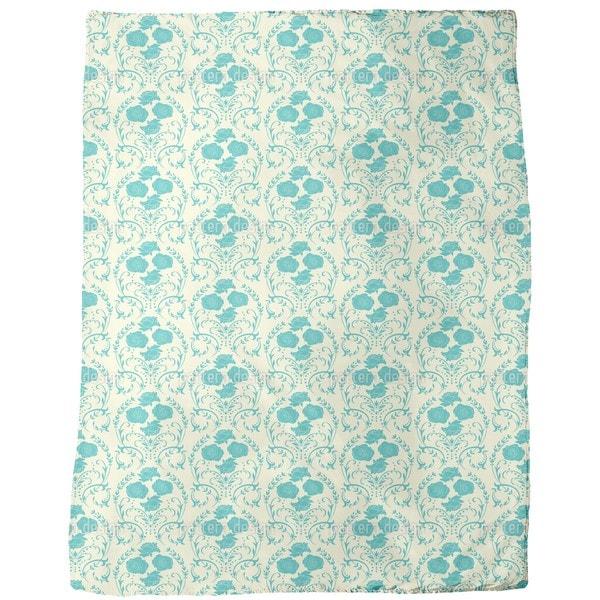 Rose Vanilla Fleece Blanket