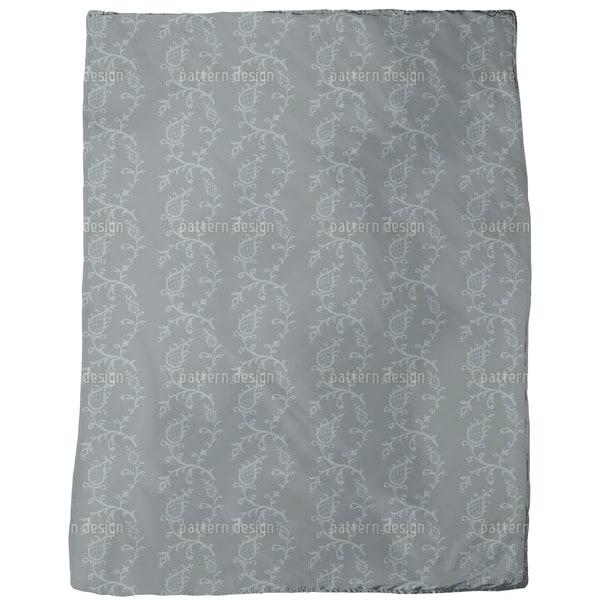 Cinderella Grey Fleece Blanket