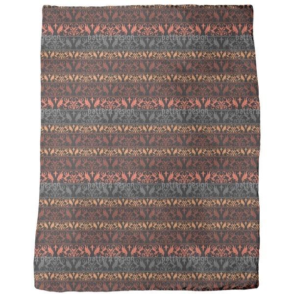 Encora Dark Fleece Blanket
