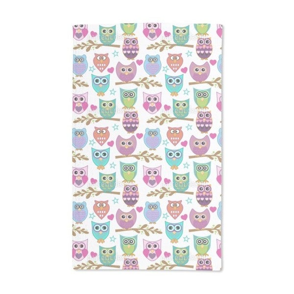 The Big Owl Assembly Hand Towel (Set of 2)