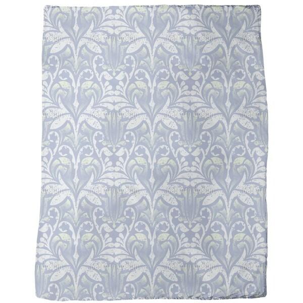 Damasko Blue Fleece Blanket