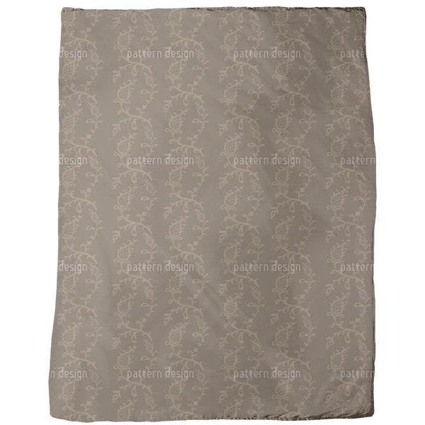 Cinderella Brown Fleece Blanket