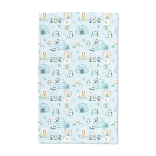 Snowland Family Hand Towel (Set of 2)