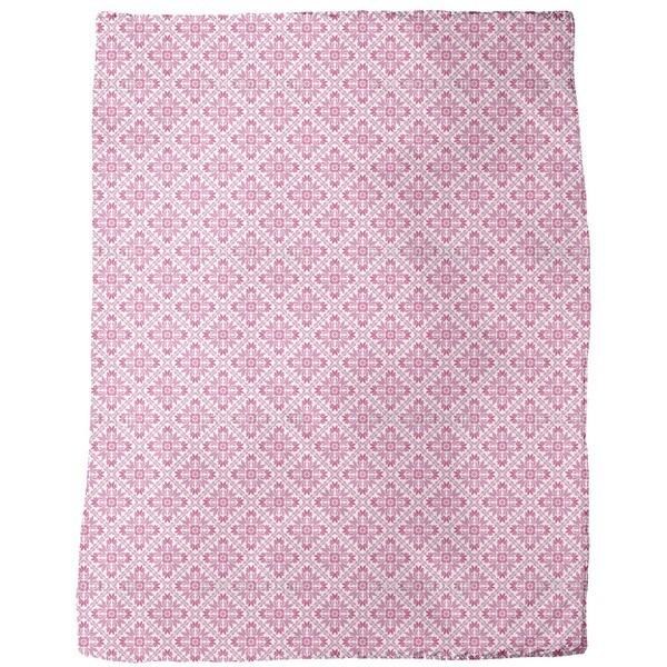 Vera Rosa Fleece Blanket