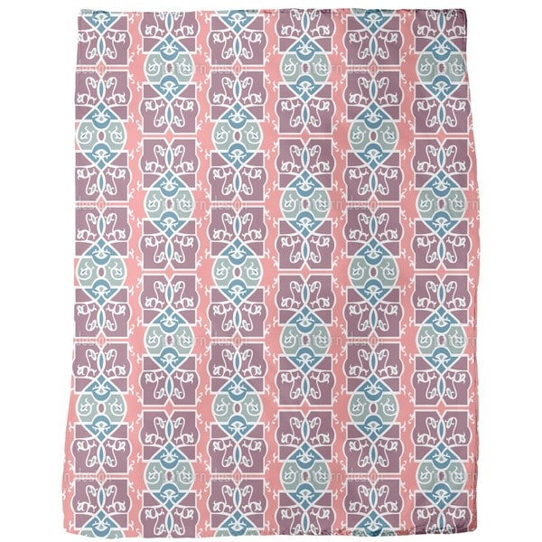 Romanesque Fresco Fleece Blanket