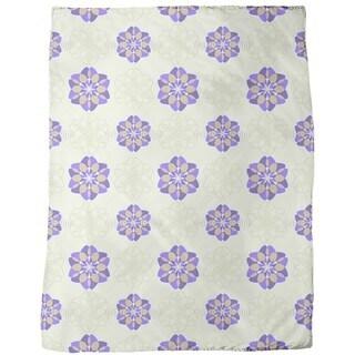 Rosa Floralis Fleece Blanket