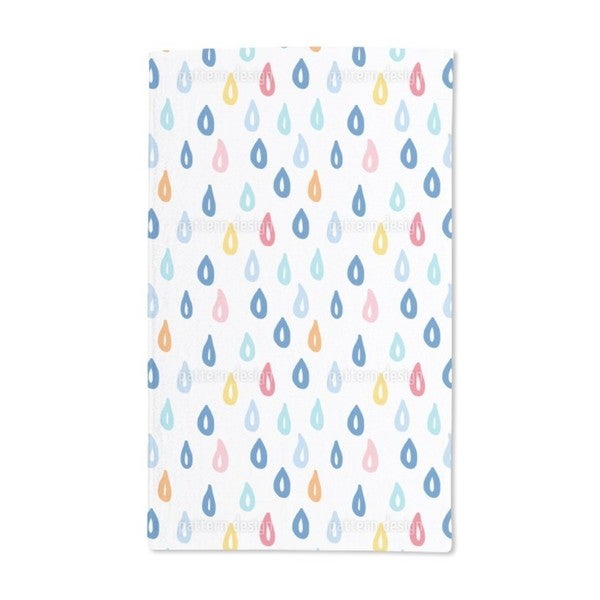 In the Rain Hand Towel (Set of 2)