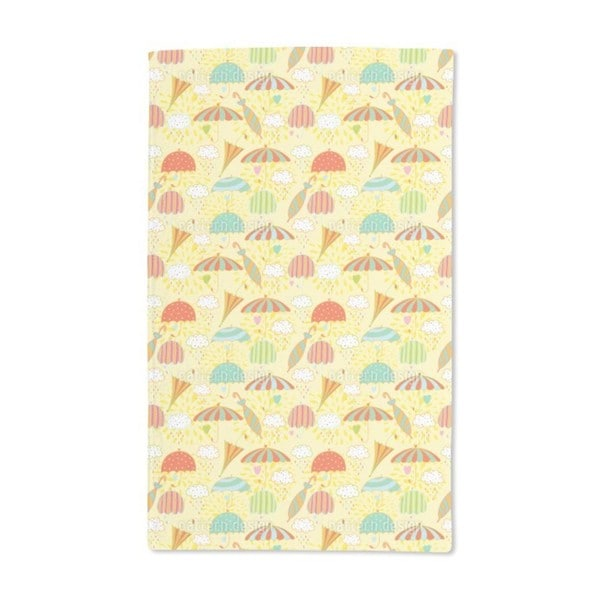 Umbrella Weather Hand Towel (Set of 2)