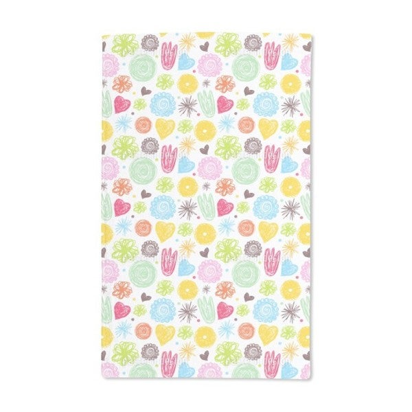 When Girls Draw Hand Towel (Set of 2)
