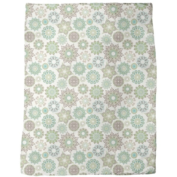 Springtime in Saint Petersburg Fleece Blanket