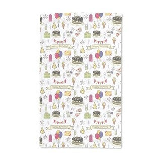 Happy Birthday Hand Towel (Set of 2)