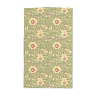Fruit Garden Green Hand Towel (Set of 2)