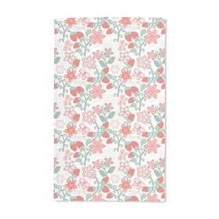 Sweet Strawberry Paradise Hand Towel (Set of 2)