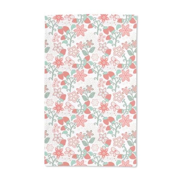 Sweet Strawberry Paradise Hand Towel (Set of 2)