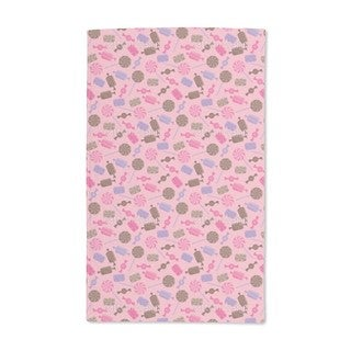 Candy Strawberry Hand Towel (Set of 2)