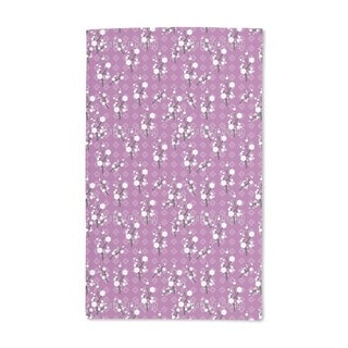 Hanami Purple Hand Towel (Set of 2)