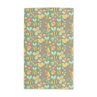Busy Honey Bees in the Woods Hand Towel (Set of 2)