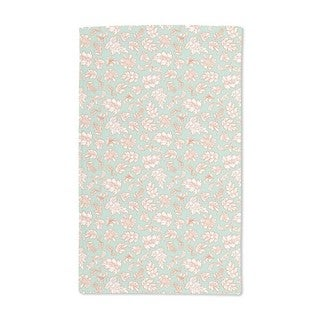 Leafage Mint Hand Towel (Set of 2)