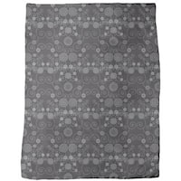 Irana in the Dark Fleece Blanket