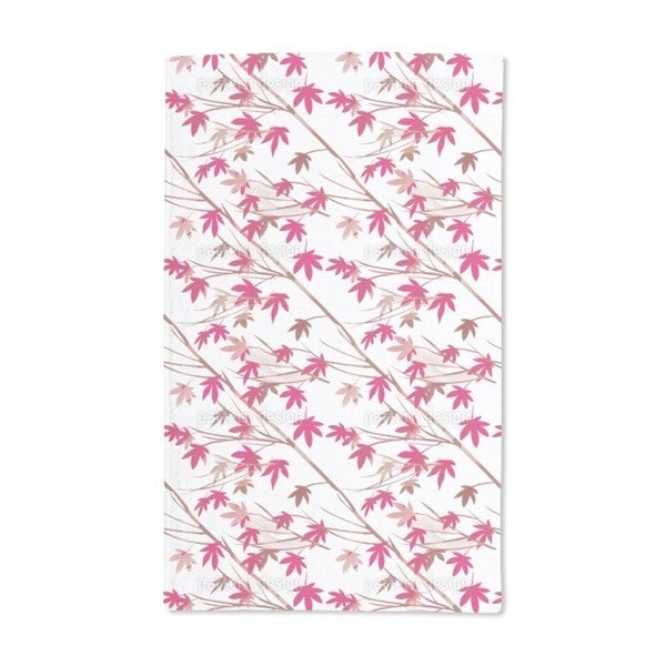 Japanese Maple Hand Towel (Set of 2)