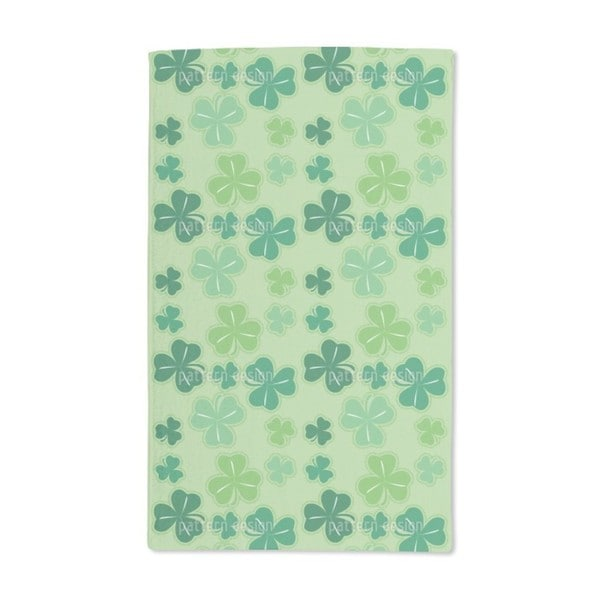 Clover Hand Towel (Set of 2)