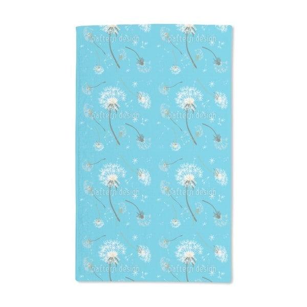 Dandelions Blue Hand Towel (Set of 2)