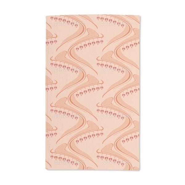 Herzbluten Apricot Hand Towel (Set of 2)