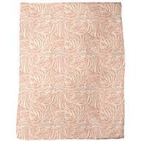 Zebra Ethno Fleece Blanket