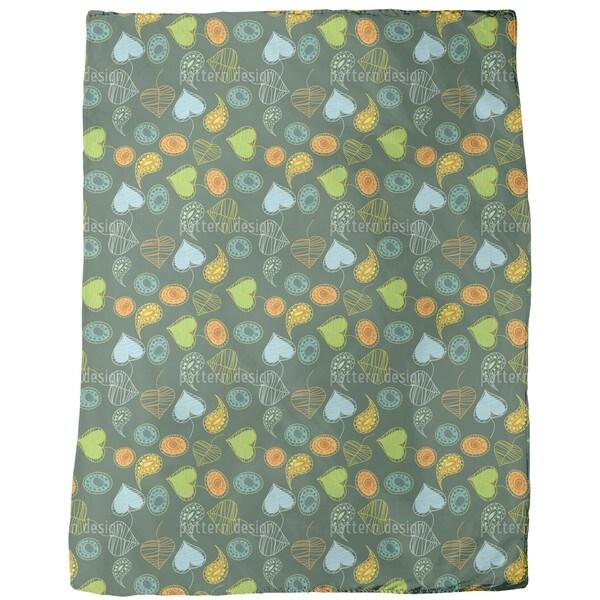 Tutti Frutti Fleece Blanket