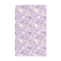 Lilac Flower Rain Hand Towel (Set of 2)
