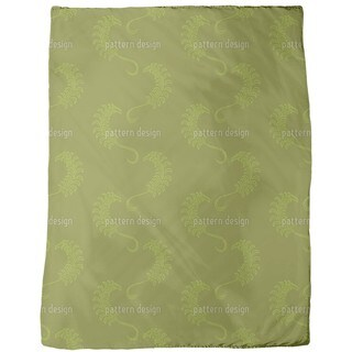 Dolce Farniente Green Fleece Blanket