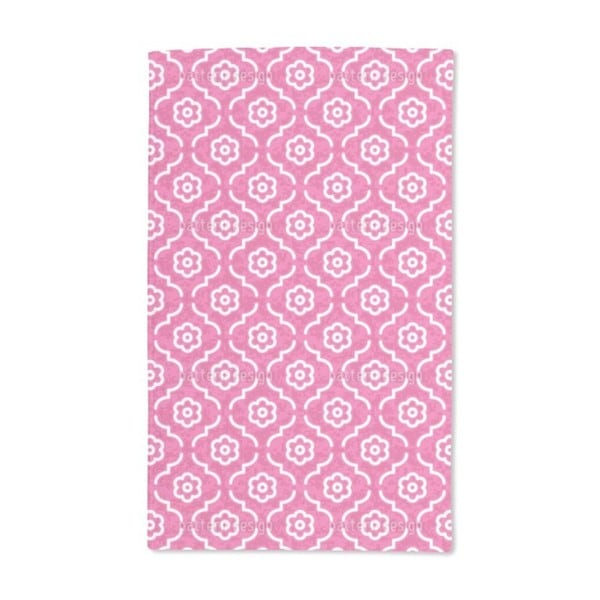 Pink Lady Morocco Hand Towel (Set of 2)