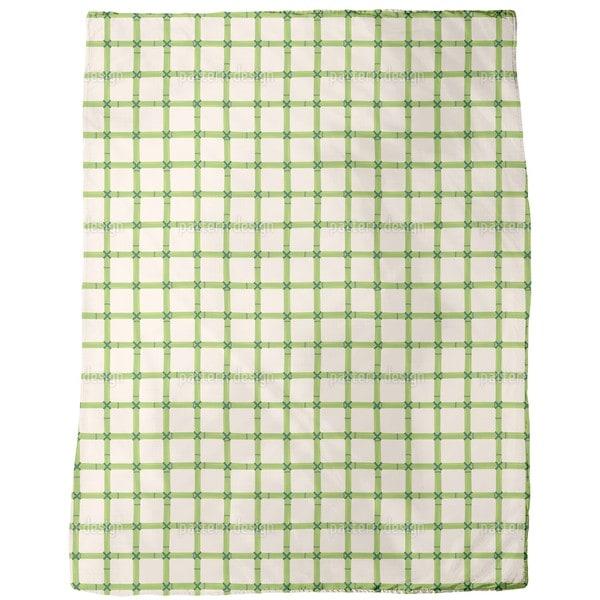 Bamboo Net Fleece Blanket